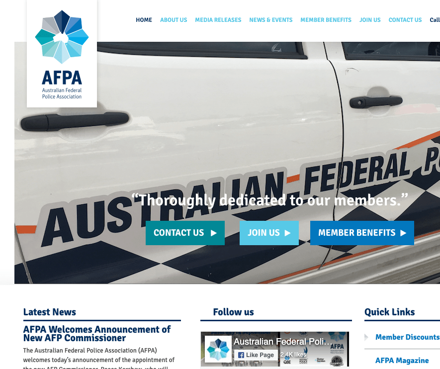 AFPA website